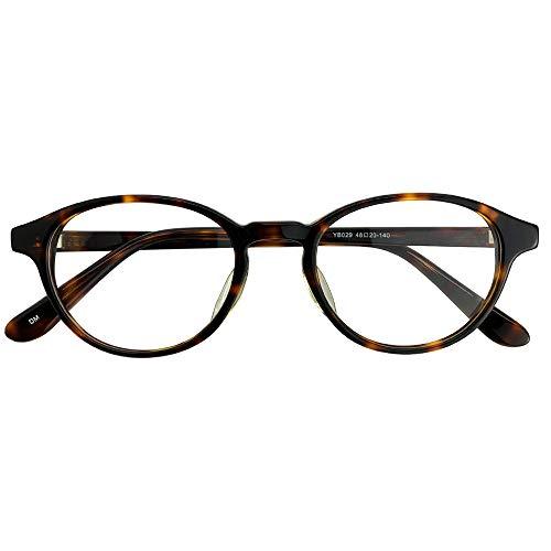 SHOWA 遠近両用メガネ ボストン (デミ) (レディースセット) 全額返金保証 境目のない 遠近両用 眼鏡 老眼鏡 おしゃれ レディース 女性 リーディンググラス (瞳孔間距離:66mm〜68mm, 近くを見る度数:+2.5)
