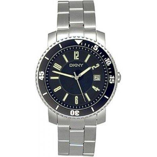 DKNY NY1038–Reloj de Pulsera de Hombre, Correa de Acero Inoxidable