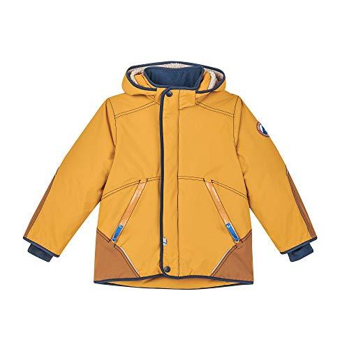 Finkid Talvinen Husky Gelb, Isolationsjacke, Größe 140-150 - Farbe Golden Yellow - Navy