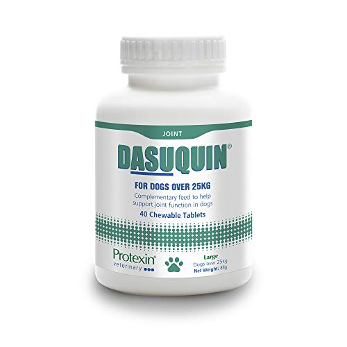 Protexin Veterinary Dasuquin Joint Health Supplement for Large Dogs Over 25Kg - 40 chewable tablets