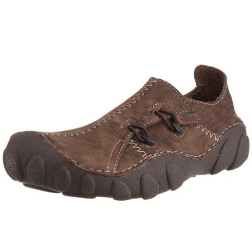 Clarks Herren Momo Spirit 2 Slipper, Braun (Ebony Leather), 42