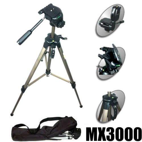 Trípode Profesional DynaSun MX3000 175cm Aluminio con Bolsa para Cámara Videocamara Digitale
