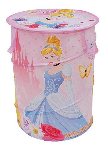 Disney Principesse Portagiochi in Tela Pop Up Cilindrico