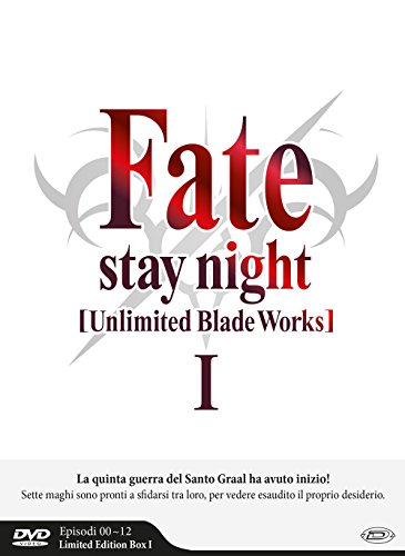 Fate,Stay Night Unlimited Blade Works S1 Eps.0-12 (Box 3 Dvd Limited Edition)