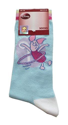 Damen Socken Walt Disney 37 / 41 Ferkel (0009)