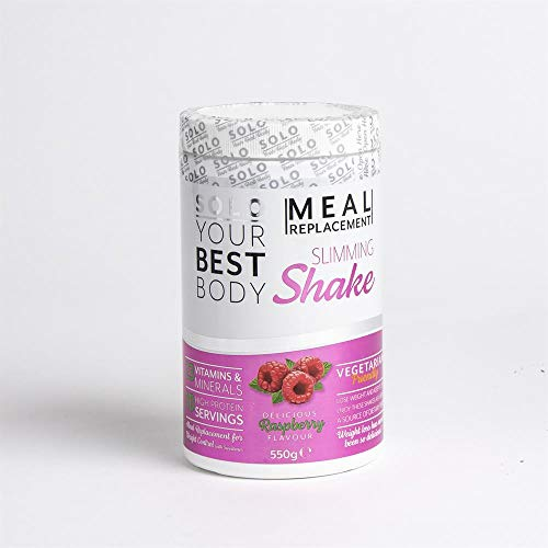 BAZONA - Solo Meal Replacement Slimming Shake 550g - Raspberry