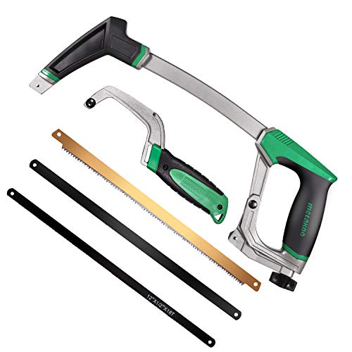 METAKOO Hacksaw Frame Set, including Standard and Mini...