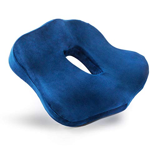 FHSGG Anti-Pressure Hemorrhoid Sore Cushion, Memory Foam Cushions, Pain Relief for Hemorrhoids, Bedsores, Sciatica, Pregnancy, Postpartum Orthopedic