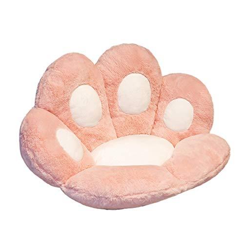 Cuscino con Artiglio di Gatto in Peluche Invernale, Cuscino con Zampa in Peluche Creativo, Cuscino per Sedia Morbido E Caldo, Cuscino con Schienale per Divano Cuscino con Pisolino Regalo per Bambini