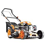 "P1PE Lightweight P5100SP Petrol Self Propelled Lawn<span class='highlight'>mower</span> 4 Stroke 20"" 51cm 173cc Powered By HYUNDAI with 2 year warranty"