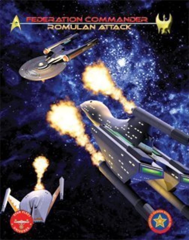 Federation Commander Romulan Attack ADB 4102 by Board Games