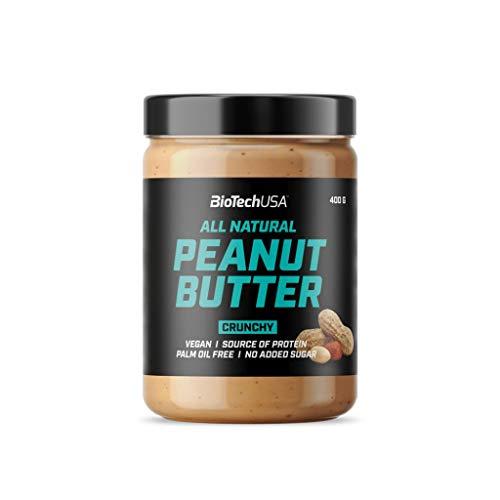 BioTechUSA Peanut Butter Erdnussbutter, 400g , smooth