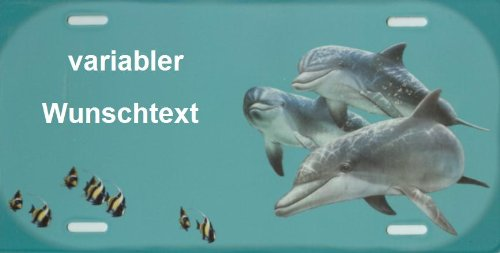 Schilderfeuerwehr DelphineNamensschild Delphine für Kinder mit Namen und Wunschtext Selbst Gestalten und Bedrucken lassen ✓ lustiges Funschild ✓ Blechschild ✓