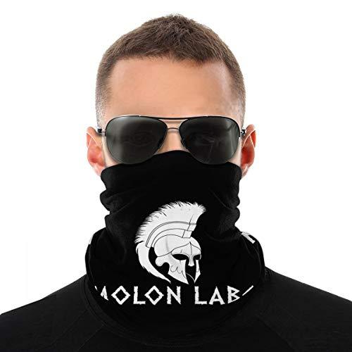 Molon Labe Spartan Unisex Gesichtsschalbezug Outdoor Sport Running Neck Sturmhaube