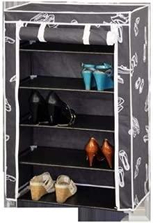 Blanc et Noir 2 Portes Placard /à Chaussures Kit Closet Kubox