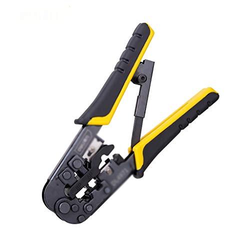 ECSWP HQQGGJ Alicates de engarce Multifuncional UTP/STP Redondo par Trenzado Cortador de Cortador de Cable Cortador de Cable Cortador de alambres Herramienta