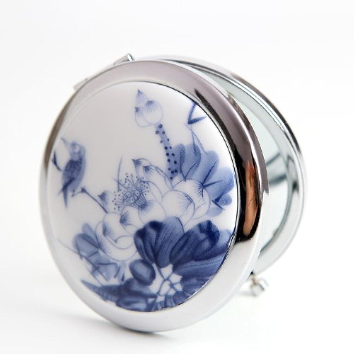 まあ気をつけてエクスタシー手作り 手鏡 レディース コンパクトミラー 化粧鏡 携帯ミラー 細かなメイクや日々のスキンケアに最適!