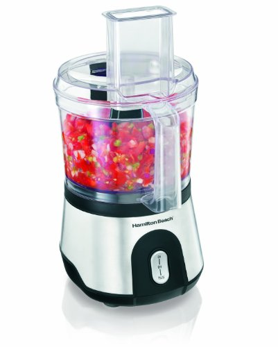 Hamilton Beach 10-Cup Food Processor & Vegetable Chopper with Compact Storage (70760)