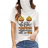 Women's Casual Loose Turtleneck Short Sleeve Soild Tank Tops Tee Shirt Blouse T-Shirt with Facemasks S-5XL