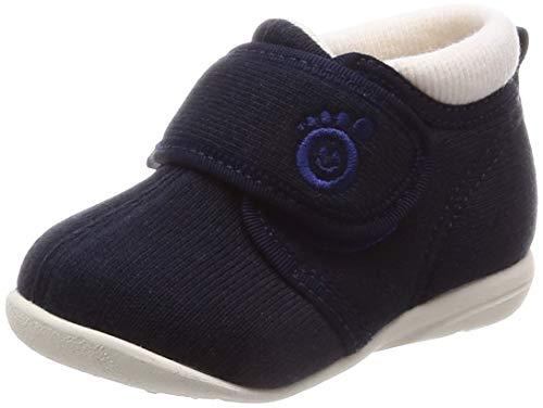 [アサヒ] ベビーシューズ 子供靴 日本製 健康くんB01 ネイビー 14 cm 2E