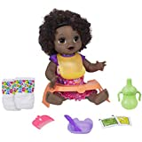 Baby Alive Happy Hungry Baby Black Curly Hair...