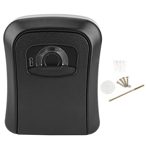 Caja de llaves, caja de almacenamiento de llaves de identificación rápida de huellas dactilares para empresas para almacenes para familias
