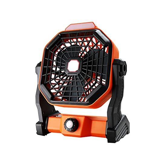 GFDFD Ventilador con Energía Solar Mini Desktop Fan De Enfriamiento con Luz LED para El Hogar Al Aire Libre Multifuncional Cooler Air Fan De Enfriamiento De Aire
