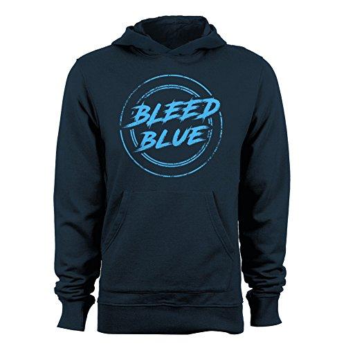 GEEK TEEZ Dota 2 Inspired Team EG Bleed Blue Men's Hoodie Navy XX-Large