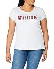 MUSTANG Damska koszulka z logo