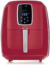 قلاية السيف الصحية بدون زيت مع شاشة رقمية مقاس كبير 6 لتر أحمر - AL7205