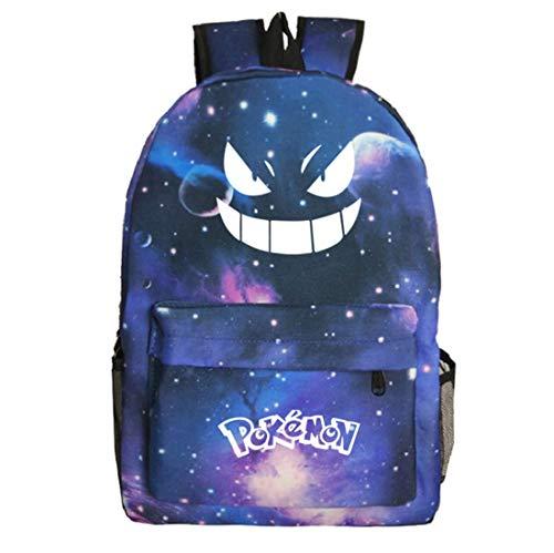 Luminous Kids Bag with Eyes, mochila para niños y niñas, mochila de dibujos animados mochila escolar