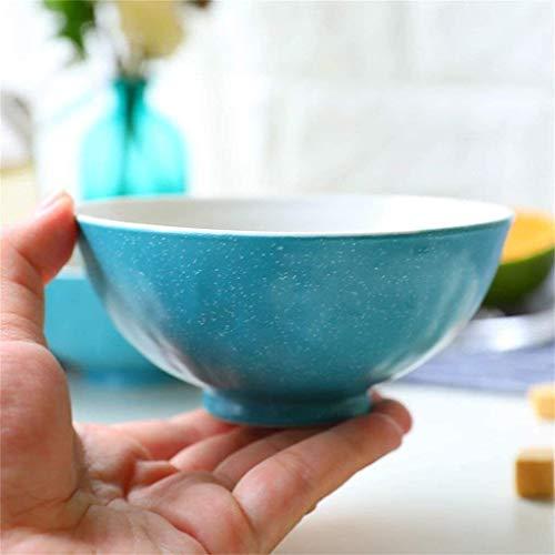 JOMOSIN CP0206 Ensalada de cerámica Ensalada Ensalada Vegetal Creativo Postre Fruta Desayuno Bowl 4.5inches W11.5cm H6CM Suave