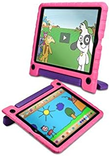 Pure Sense Buddy [Anti-Microbial Kids Case] Child Proof Case for Samsung Tab A 10.1 2016 | Full Kit: Case, Strap, Screen P...