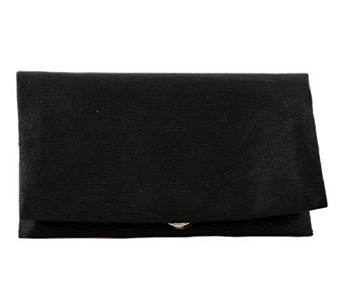 Plan B Tabakbeutel YOLO Basic (17,5 x 8,5 cm) mit Eva-Gummi Tasche Bis mit zu 50 Gramm Tabak Schwarz