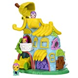 """NEW NANABLES VEHICLES! Ride through your Nanables world on your very own Go Bananas Bike! COOL BANANA DESIGN! This bright and colorful house has cute banana details! There's even two """"hangout spots"""" for your Nanables. PEEK INSIDE! Look inside your ne..."""