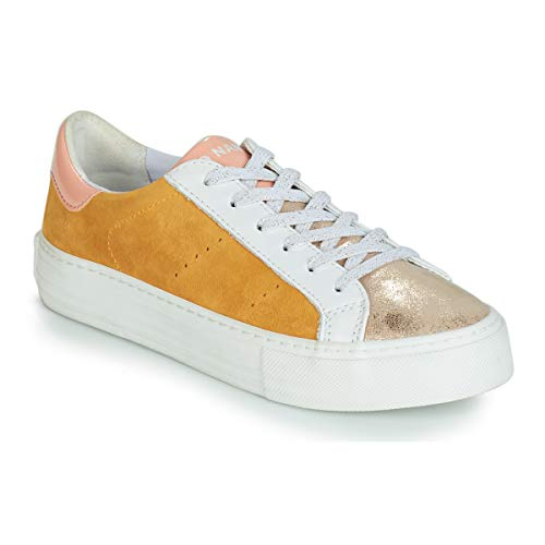 NONAME Arcade Sneakers Donne Weiss/Gold/Gelb - 36 - Sneakers Basse