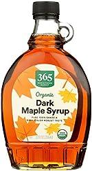 365 by WFM, Syrup Maple Dark Amber Grade A Organic, 12 Fl Oz