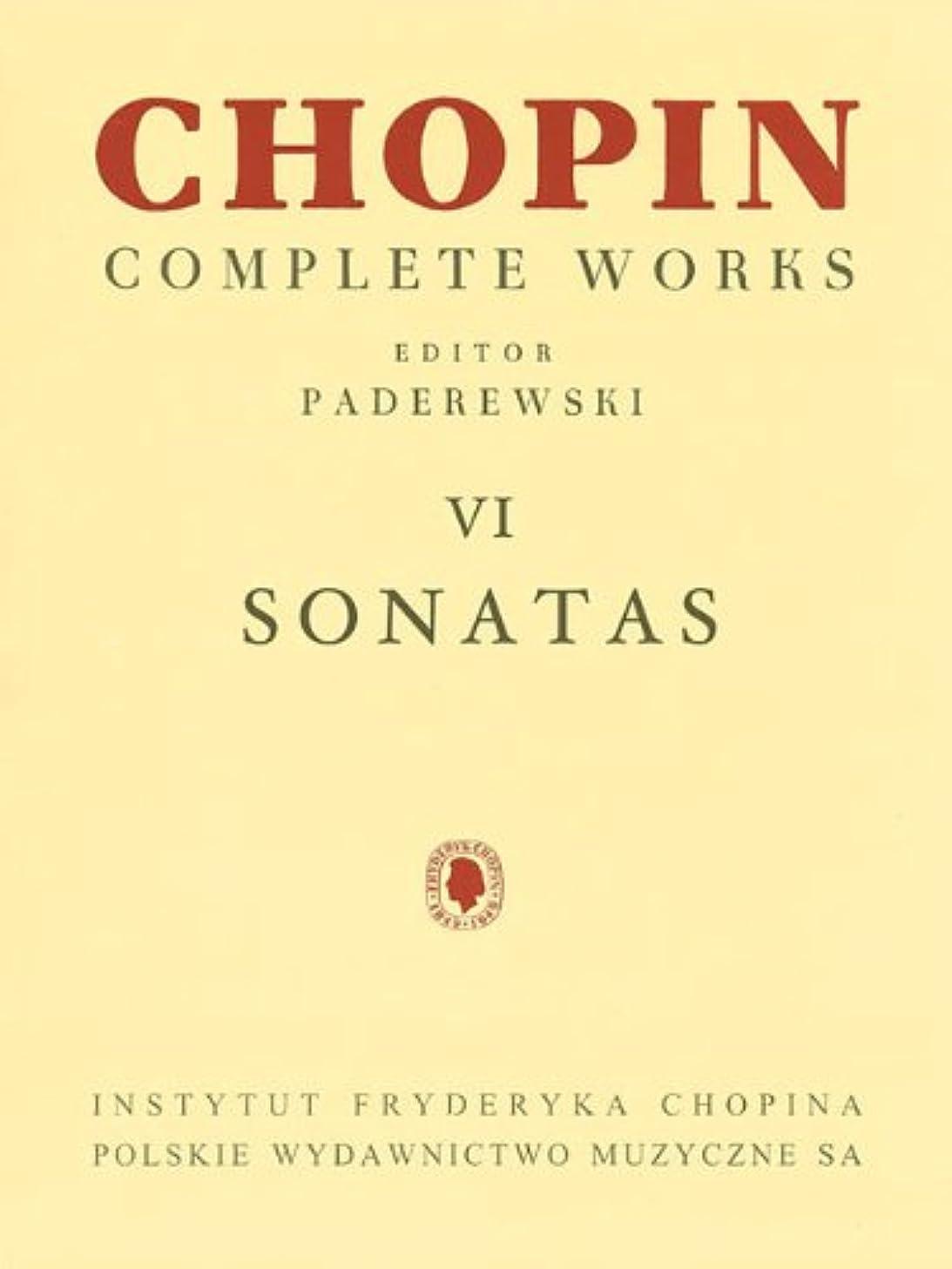 Sonatas: Chopin Complete Works Vol. VI (Fryderyk Chopin Complete Works)