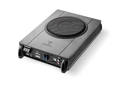"""Focal IBus 20 20cm Under Seat Active Subwoofer, 8"""" Active Bass Tube by Focal"""