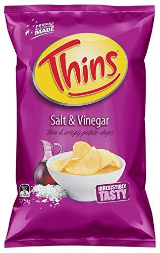 Thins Salt & Vinegar, 12 x 175g