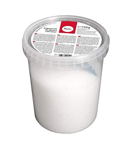 Rayher 3423000 Präpariersalz für Blumen und Gräser, zum Trocknen, Dose 750 g