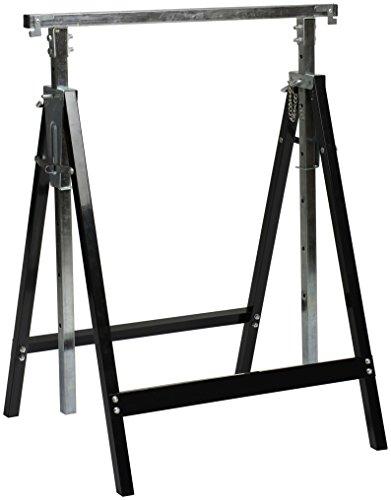 Nordlinger Pro 640023Pro Profi-Böcke im Set, höhenverstellbar, für schwere Lasten