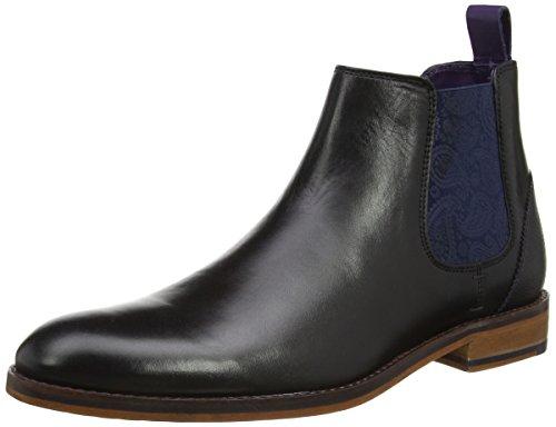 Ted Baker Herren Camroon 4 Chelsea Boots, Schwarz (Black), 46 EU