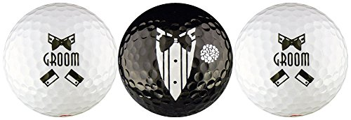 Groom Wedding Variety Golf Ball Gift Set