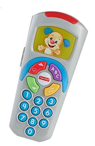 Fisher-Price Telecomando di Cagnolino, Giocattolo Educativo per l'Apprendimento, per Bambini da 6+ Mesi, DLD33