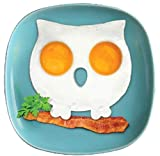 Cocina Silicona Molde de huevos de gato Forma de gato Molde de huevos de cocinad Huevo lindo Molde frito Huevos para gadgets Panqueque frito interesante, búho