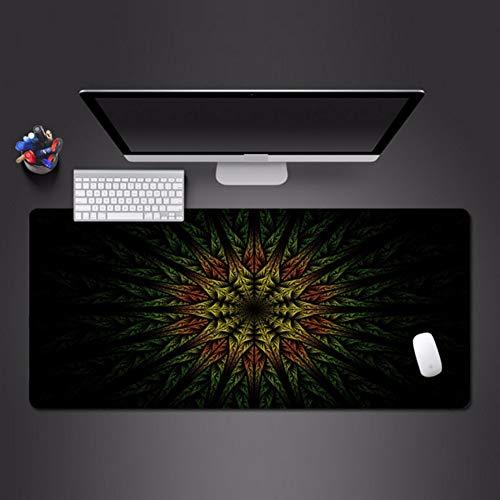 Coole 3D-Linie Effektfarbe Mauspad erweiterte Anti-Rutsch-Computerzubehör Pad Tastatur Mauspad 800 * 300 * 3mm