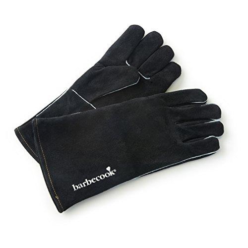 barbecook Handschuhe aus Wildleder Grillzubehör