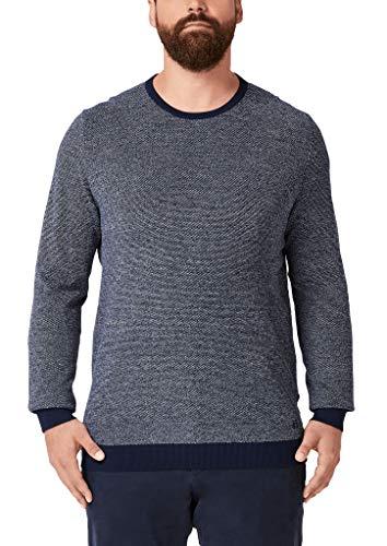 s.Oliver Big Size Herren 15.910.61.7125 Pullover, Blau (Fresh Ink 59w0), (Herstellergröße: XX-Large)