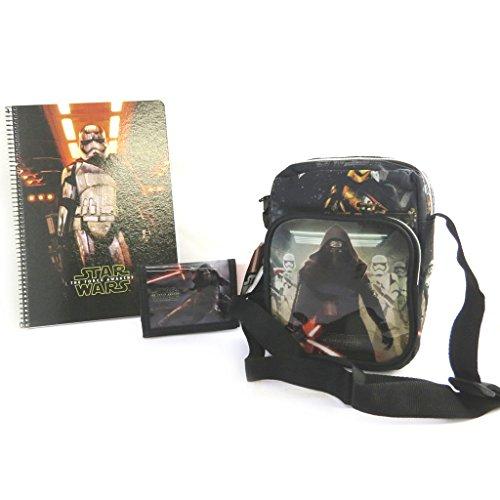 Star Wars [N1352 - Coffret cadeau noir (Sac + portefeuille + cahier)